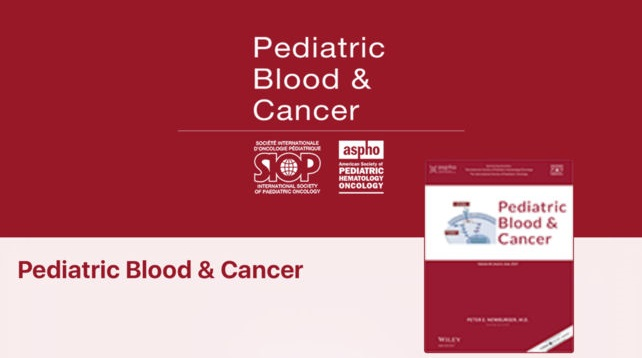Pediatric Blood and Cancer